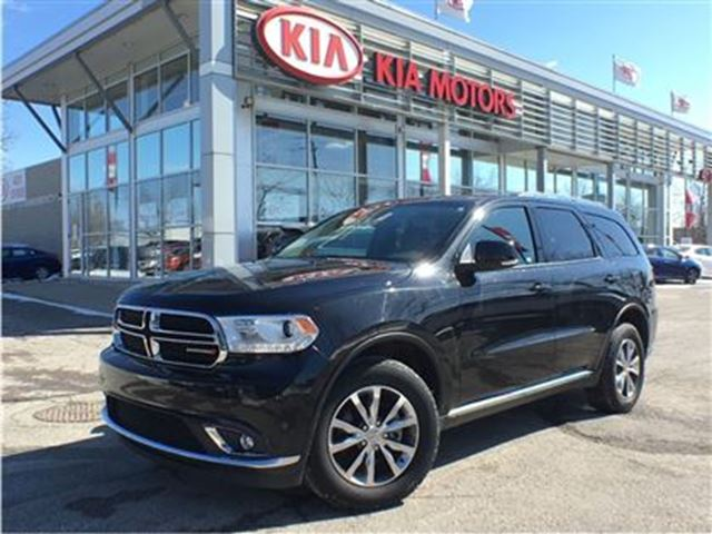 2016 Dodge Durango Limited - $279.88 BI Weekly 7 Pass, Leather, Roof in Mississauga, Ontario