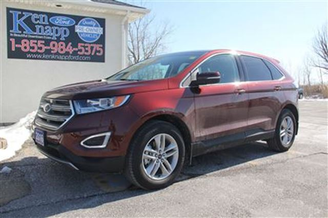 2016 ford edge sel 2 0l fwd nav sunroof essex ontario used car for sale 2728254. Black Bedroom Furniture Sets. Home Design Ideas