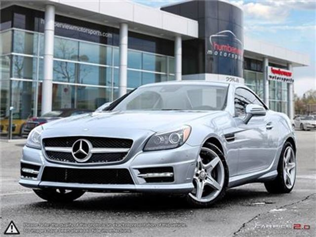 2016 Mercedes-Benz SLK-Class 300,Glass Roof,HK Sound,AMG, sport in Mississauga, Ontario