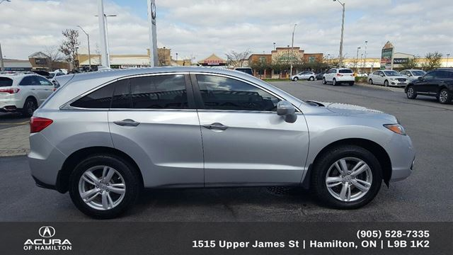 2014 Acura RDX Base TECH PACKAGE, TINT Silver | ACURA OF HAMILTON | The Spec