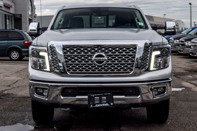 2016 nissan titan xd sl 4x4 diesel crew nav rockfordfosgate tow pksense 20alloys thornhill. Black Bedroom Furniture Sets. Home Design Ideas