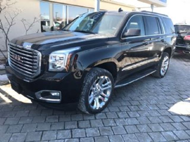2017 gmc yukon yukon slt premium mississauga ontario used car for sale 2728689. Black Bedroom Furniture Sets. Home Design Ideas