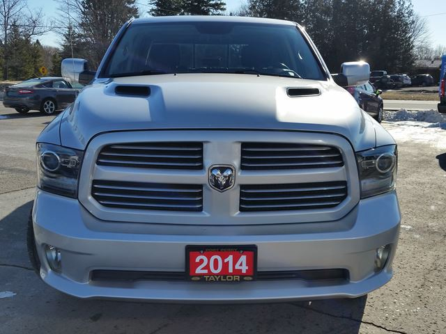 2014 dodge ram 1500 sport leather sunroof camera port perry ontario used car for sale. Black Bedroom Furniture Sets. Home Design Ideas