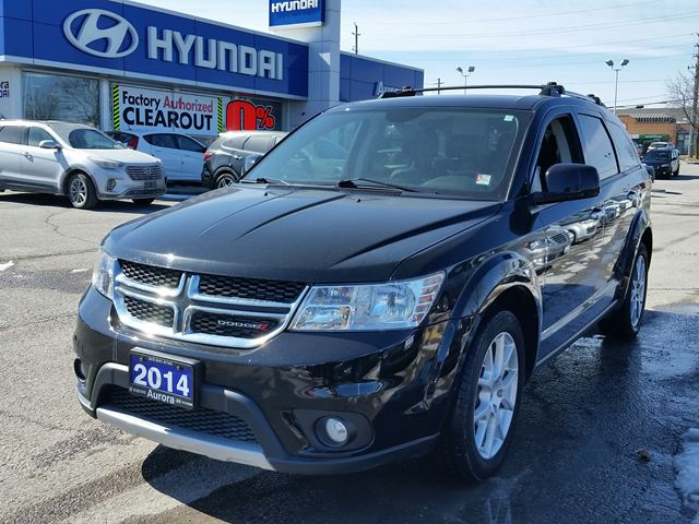 2014 dodge journey r t aurora ontario used car for sale 2728549. Black Bedroom Furniture Sets. Home Design Ideas