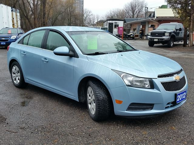 2012 chevrolet cruze lt turbo w 1sa whitby ontario used. Black Bedroom Furniture Sets. Home Design Ideas