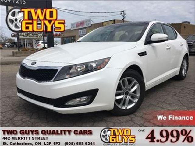 2013 KIA OPTIMA LX PANORAMA ROOF MAGS in St Catharines, Ontario