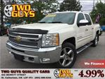 2012 Chevrolet Silverado 1500 LT 4x4 CREW CAB 20 INCH MAGS in St Catharines, Ontario