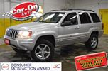2004 Jeep Grand Cherokee LIMITED 4X4 V8 LEATHER in Ottawa, Ontario
