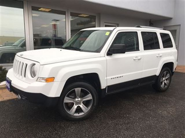 2016 jeep patriot high altitude leather simcoe ontario used car for sale 2729765. Black Bedroom Furniture Sets. Home Design Ideas