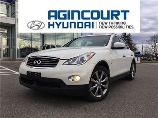 2015 INFINITI QX50 Journey/AWD/LEATHER/SUNROOF/BACKUP CAM/ONLY 45023K in Toronto, Ontario