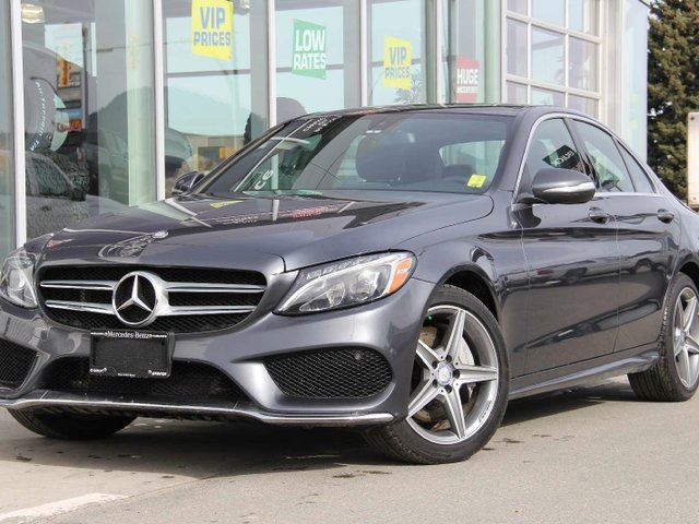 2015 mercedes benz c class c 300 4matic kamloops for Average insurance cost for mercedes benz c300