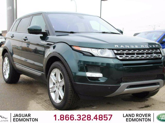 2014 LAND ROVER RANGE ROVER EVOQUE Local One Owner Trade In | No Accidents | 3M Protection Applied | Navigation | Surround Camera System | Parking Sensors | Adaptive Xenon Headlamps | Panoramic Glass Roof | Power Liftgate | Heated Windshield with Rain Sensing Wipers | Heated Front Sea in Edmonton, Alberta