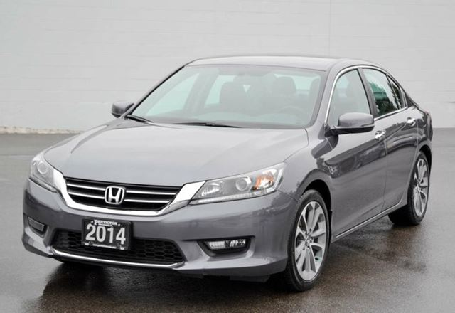 2014 honda accord sport silver penticton honda. Black Bedroom Furniture Sets. Home Design Ideas