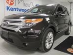 2013 Ford Explorer XLT with NAV, back up cam, twin panel moonroof, and keyless entry! All within a rare kodiak brown in Edmonton, Alberta