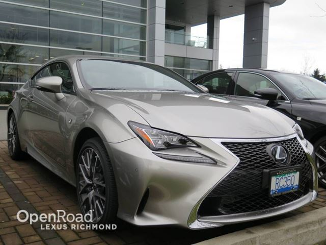 2017 Lexus RC 350 F SPORT SERIES 2 in Richmond, British Columbia