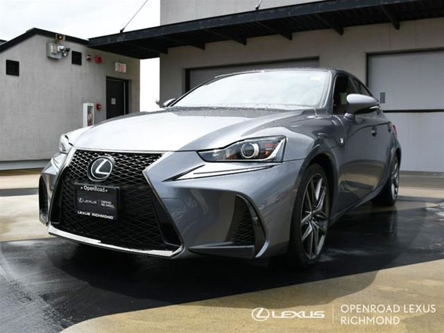 2017 lexus is 300 f sport series 2 grey openroad lexus richmond. Black Bedroom Furniture Sets. Home Design Ideas