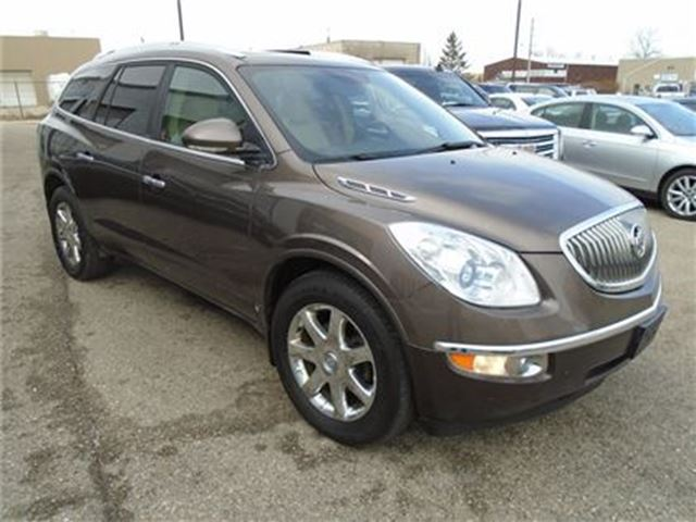 2009 buick enclave cxl navi moon roof leather guelph. Black Bedroom Furniture Sets. Home Design Ideas