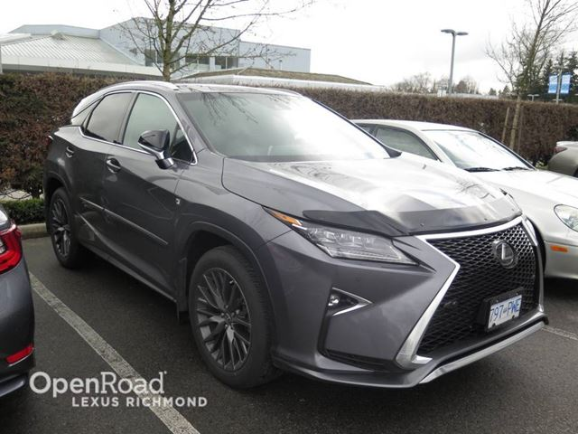 2017 lexus rx 350 f sport series 2 richmond british columbia used car for sale 2729029. Black Bedroom Furniture Sets. Home Design Ideas
