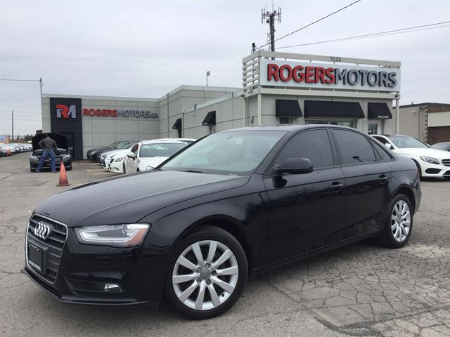 2013 AUDI A4 2.0T QTRO - LEATHER - SUNROOF in Oakville, Ontario