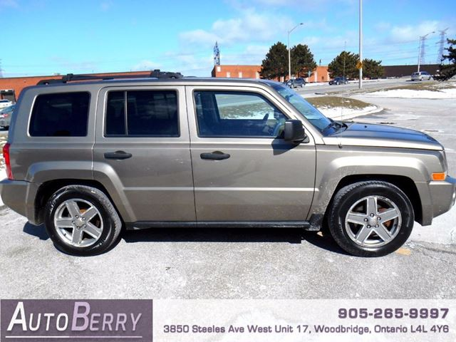 2007 jeep patriot sport 4wd woodbridge ontario used. Black Bedroom Furniture Sets. Home Design Ideas