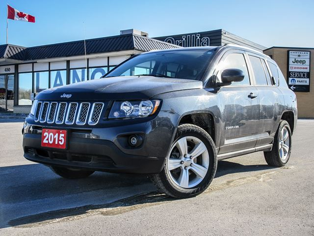 2015 jeep compass north 4x4 orillia ontario car for sale 2729079. Black Bedroom Furniture Sets. Home Design Ideas