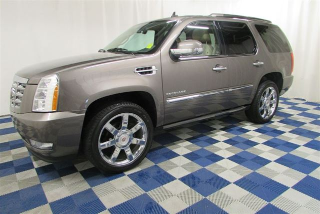 2013 Cadillac Escalade LUX AWD/REAR VIEW CAM/NAV/SUNROOF/COOLED SEATS in Winnipeg, Manitoba