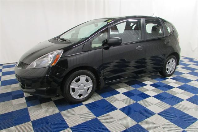 2013 Honda Fit DX-A/USB OUTLET/A/C/LOW KM in Winnipeg, Manitoba
