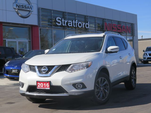 2016 nissan rogue sl stratford ontario used car for sale 2729613. Black Bedroom Furniture Sets. Home Design Ideas