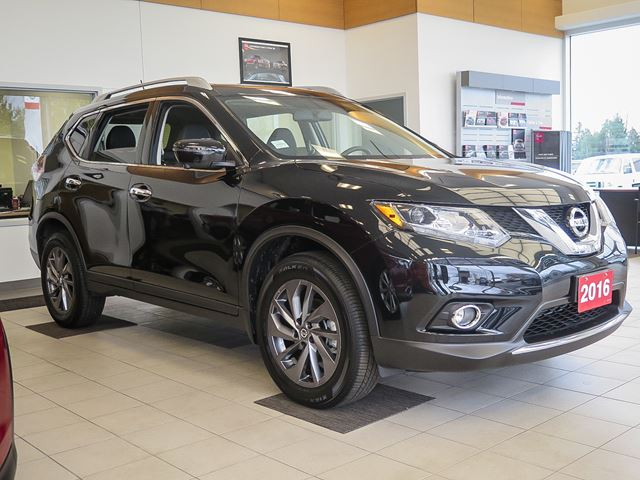 used 2016 nissan rogue sl stratford. Black Bedroom Furniture Sets. Home Design Ideas