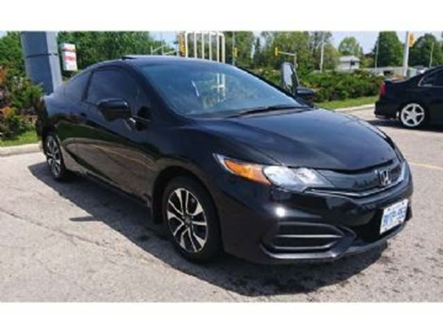 2015 honda civic ex sunroof and alloys mississauga for Honda civic sunroof