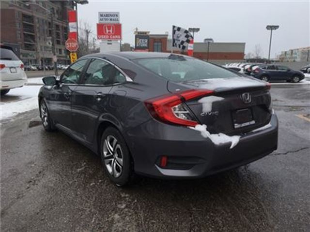 2016 honda civic lx toronto ontario used car for sale 2730511. Black Bedroom Furniture Sets. Home Design Ideas