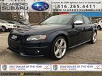 2011 Audi S4 3.0 (M6), NO ACCIDENT, BODY IN GREAT SHAPE !!! in Scarborough, Ontario