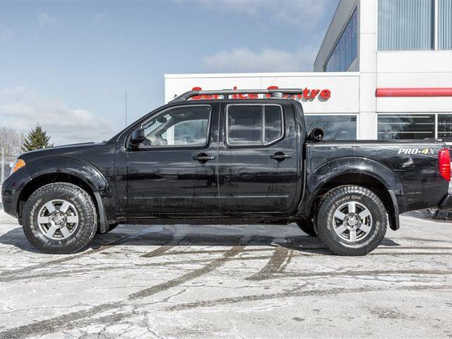 2013 nissan frontier pro 4x orangeville ontario used car for sale 2730440. Black Bedroom Furniture Sets. Home Design Ideas