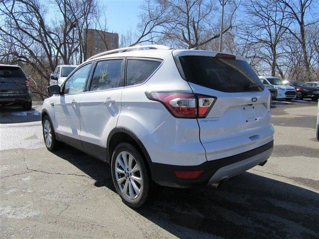 used 2017 ford escape titanium 4wd roof nav toronto. Black Bedroom Furniture Sets. Home Design Ideas