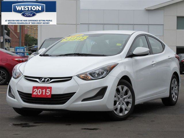 2015 hyundai elantra limited toronto ontario used car. Black Bedroom Furniture Sets. Home Design Ideas