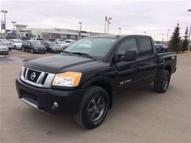 2014 nissan titan pro 4x calgary alberta used car for. Black Bedroom Furniture Sets. Home Design Ideas