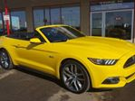 2015 Ford Mustang 5.0 GT CONVERTIBLE Accident Free, Leather, Heated Seats, A/C, - Edmonton in Sherwood Park, Alberta