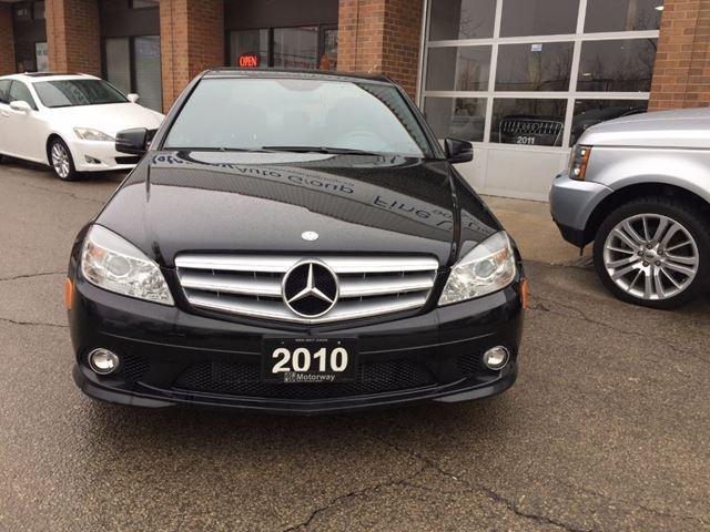 2010 mercedes benz c class c250 black motorway auto for 2010 mercedes benz c250