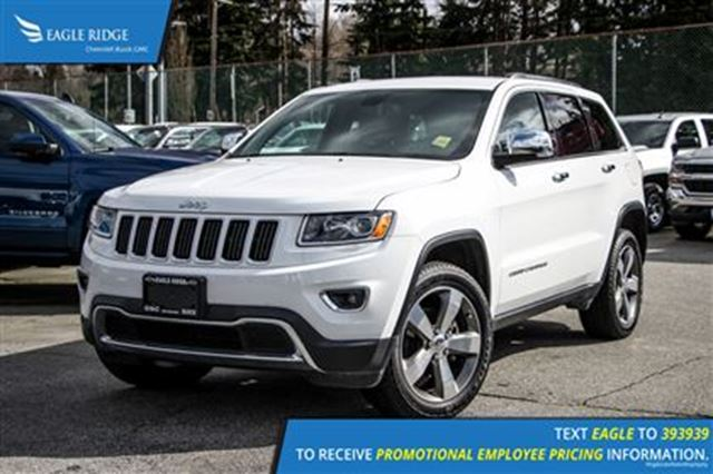 2015 jeep grand cherokee limited white eagle ridge gm. Black Bedroom Furniture Sets. Home Design Ideas