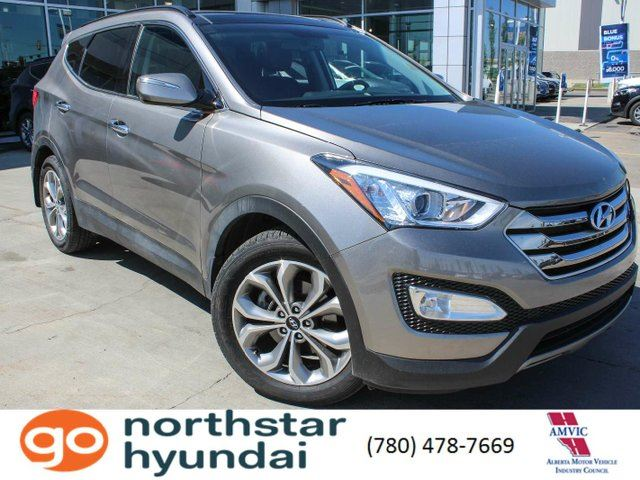 2015 HYUNDAI Santa Fe SE LEATHER/PANOROOF/BACKUPCAM in Edmonton, Alberta
