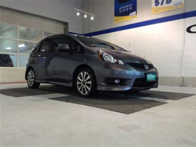 2013 Honda Fit Sport *winter tires on rims included* in Winnipeg, Manitoba