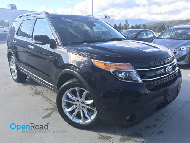 2013 FORD EXPLORER Limited V6 4WD A/T Bluetooth Sunroof Leather Na in Port Moody, British Columbia