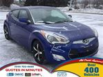 2012 Hyundai Veloster TECH PACKAGE   NAV   LEATHER   ROOF   BACKUP CAM in London, Ontario