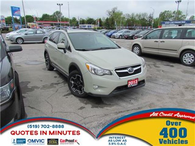 2013 SUBARU XV CROSSTREK SPORT PACKAGE   ROOF   HEATED SEATS   MUST SEE in London, Ontario
