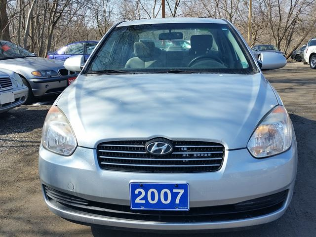 2007 hyundai accent gl cert etested oshawa ontario used. Black Bedroom Furniture Sets. Home Design Ideas