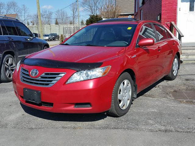 2007 toyota camry hybrid red for 5950 in oshawa. Black Bedroom Furniture Sets. Home Design Ideas