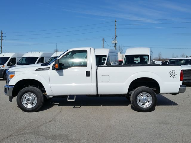 2015 ford super duty f 250 xl longbox 4wd white bennett. Black Bedroom Furniture Sets. Home Design Ideas
