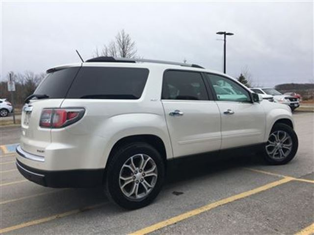 2014 gmc acadia slt2 awd roof leather rear camera orillia ontario used car for sale 2732082. Black Bedroom Furniture Sets. Home Design Ideas