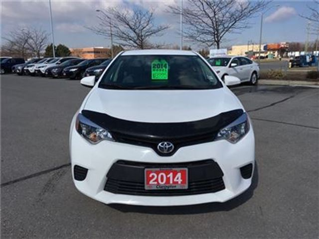 2014 toyota corolla ce auto new tires bowmanville ontario car for sale 2731565. Black Bedroom Furniture Sets. Home Design Ideas
