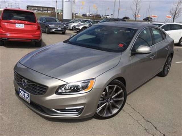 2015 volvo s60 t5 awd a platinum 2 mississauga. Black Bedroom Furniture Sets. Home Design Ideas